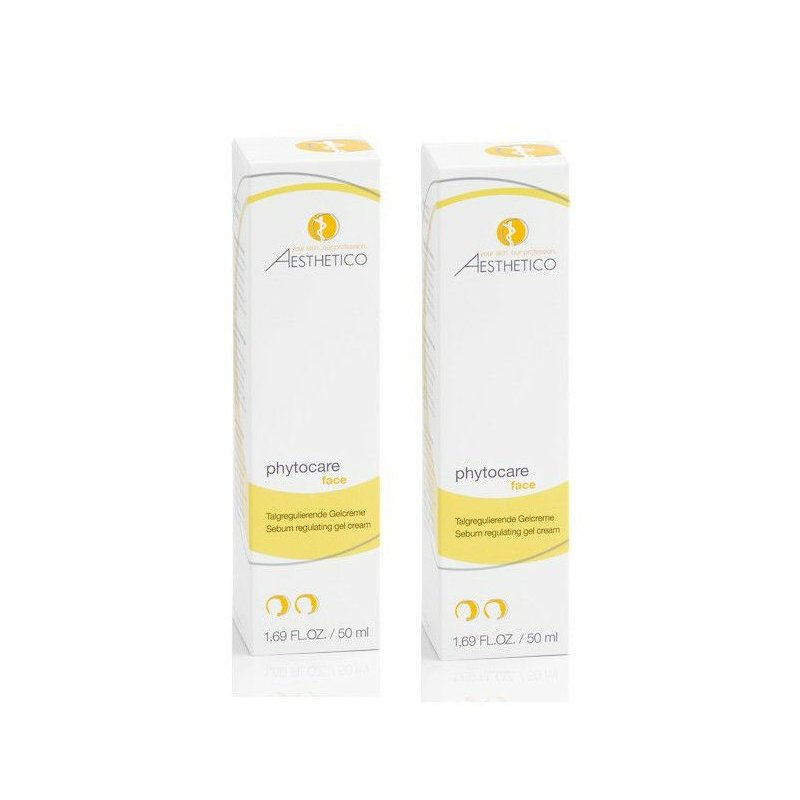 AESTHETICO phytocareSet 2x50 ml + Cosmaderm Hyaluron Serum mit Silber 2ml
