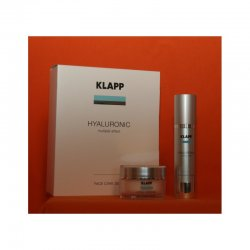 Klapp Hyaluronic - Face Care Set (Cream & Serum je 50ml)