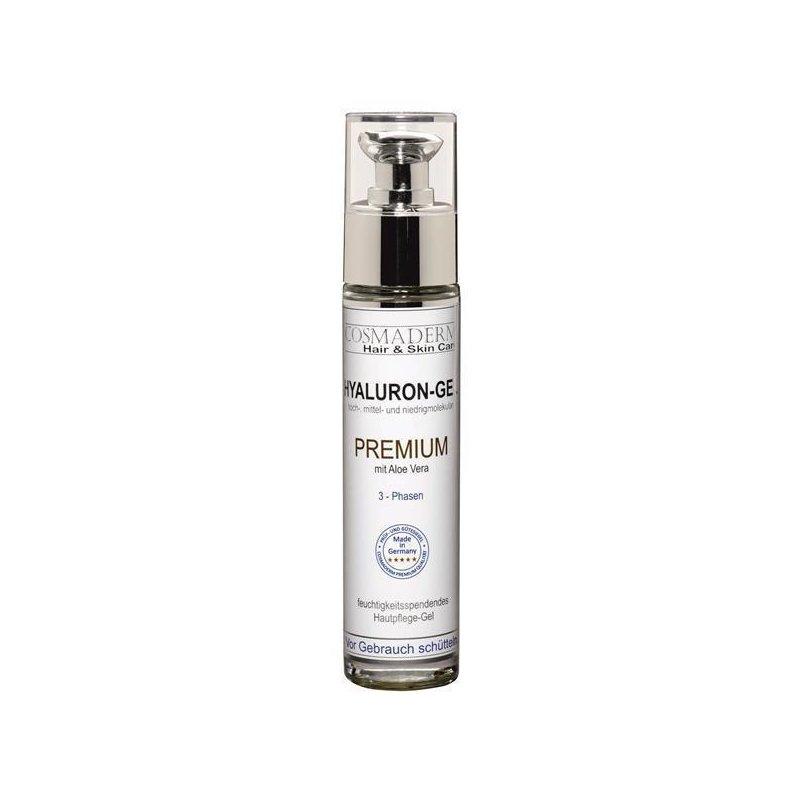 Cosmaderm - Hyaluron-Gel Premium mit Aloe Vera (Greenline) - 50ml (GP: 97,28 € pro 100 ml)