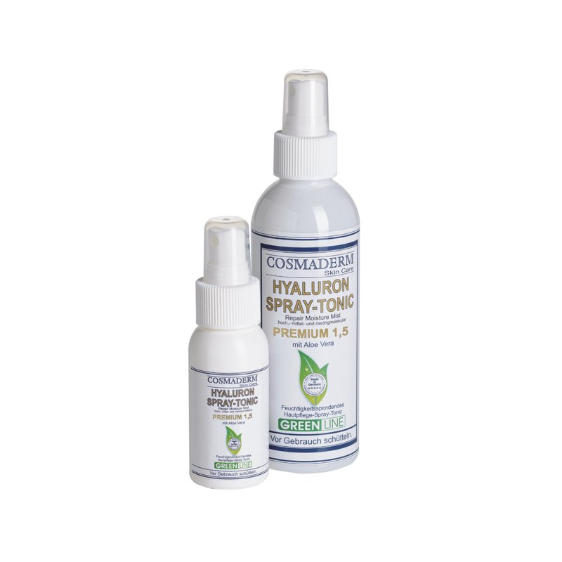 Cosmaderm - Hyaluron-Spray Tonic 1.5 Greenline