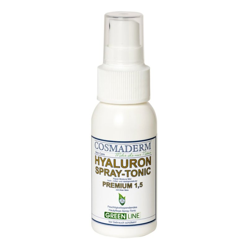 Cosmaderm - Hyaluron-Spray Tonic 1.5 Greenline - 50ml