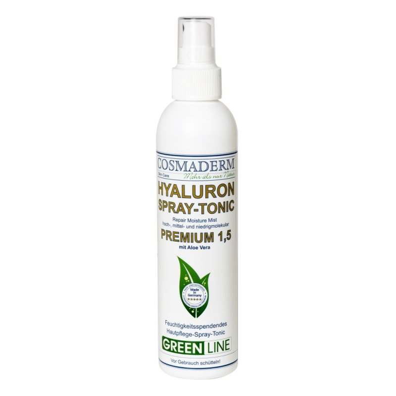 Cosmaderm - Hyaluron-Spray Tonic  1.5 Greenline - 200ml