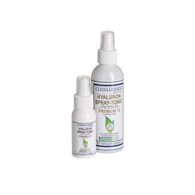 Cosmaderm - Hyaluron-Spray Tonic 12 Greenline