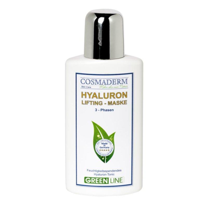 Cosmaderm - Hyaluron-Maske Greenline 6 St.
