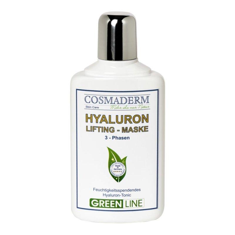 Cosmaderm - Hyaluron-Maske Greenline 12 St.
