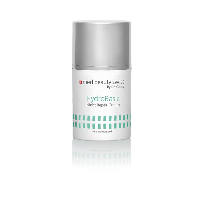 Med Beauty Swiss - Hydro Basic Night Repair Cream (50ml)