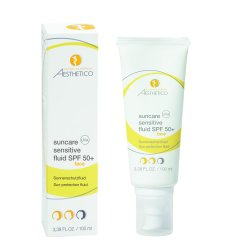 AESTHETICO suncare sensitive fluid SPF 50+ 100 ml