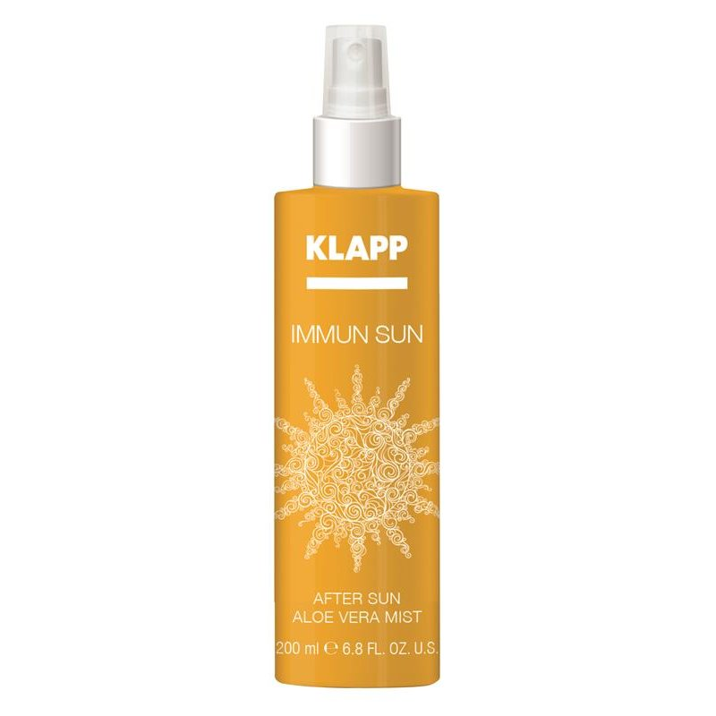 Klapp Cosmetics Klapp - Immun Sun After Aloe Vera Mist 200 ml (GP: 11,19 € pro 100 ml)