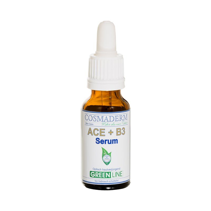 Cosmaderm -  Vitamin ACE + B3 Serum 20 ml Glaspipette