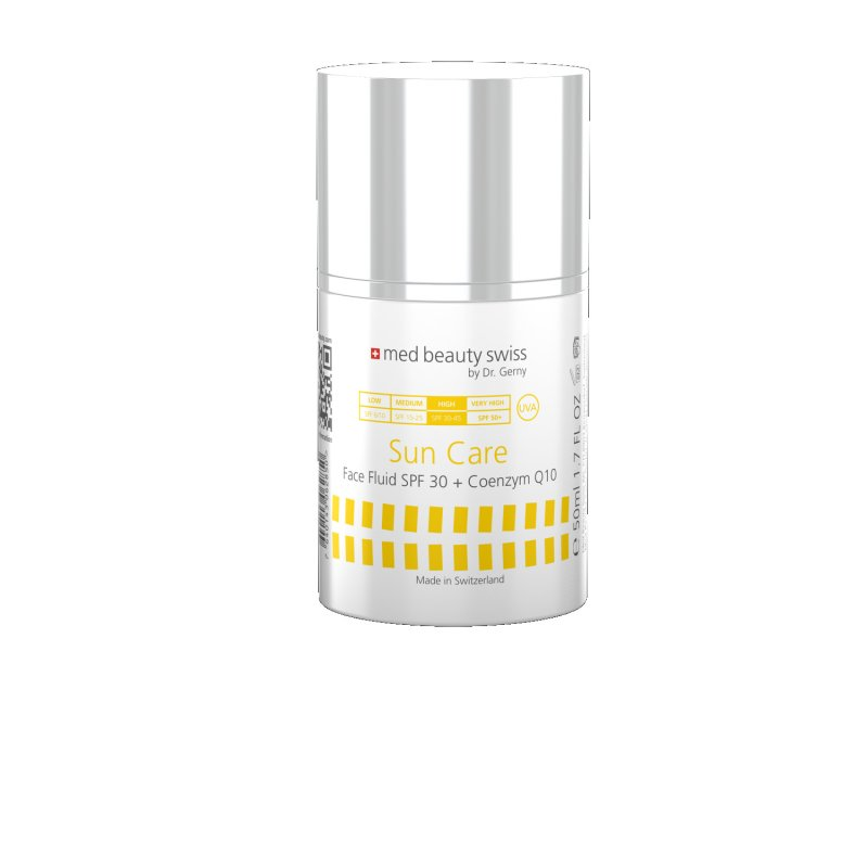Med Beauty Swiss - Sun Care Face Fluid SPF30 + Coenzym Q10 (50ml)