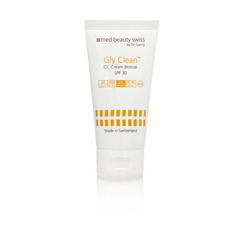 Med Beauty Swiss - Gly Clean CC Cream Bronze SPF30 (50ml) (GP: 113,08 € pro 100 ml)