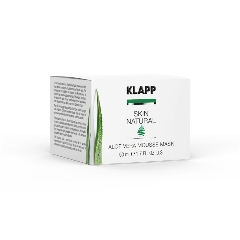 Klapp Cosmetics Klapp - Skin Natural Aloe Vera Mousse Mask 50 ml (GP: 62,82 € pro 100 ml)