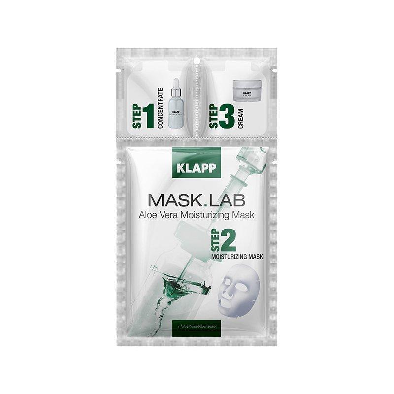 Klapp Cosmetics Klapp - Aloe Vera Moisturizing Mask