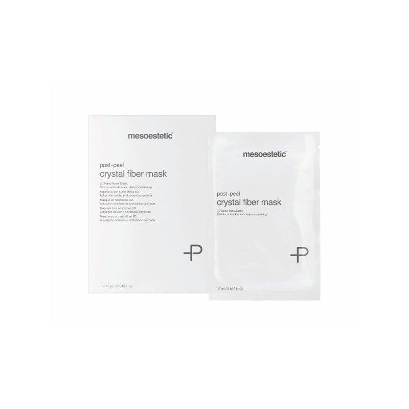 Mesoestetic - post-peel crystal fiber mask