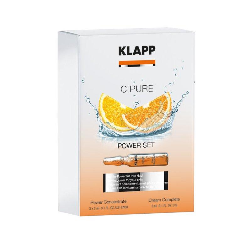 Klapp Cosmetics Klapp - C Pure Power Set