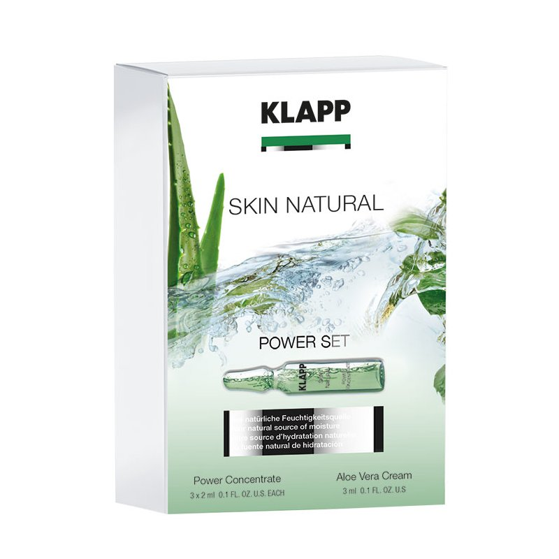 Klapp Cosmetics Klapp - Skin Natural Aloe Vera Power Set