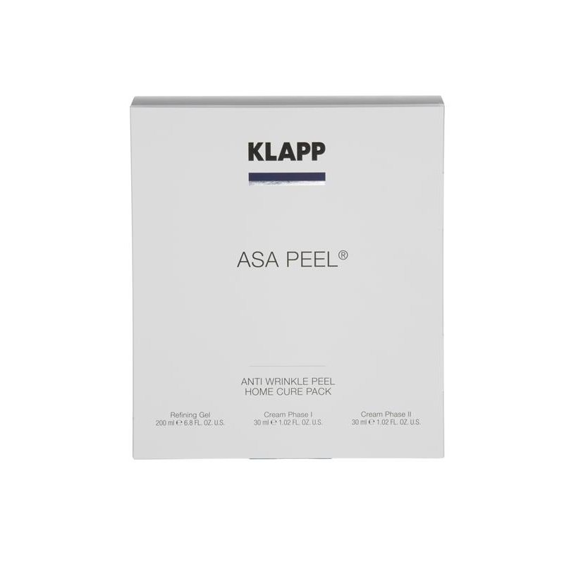 Klapp - Asa Peel-Home Cure Pack 1 Set
