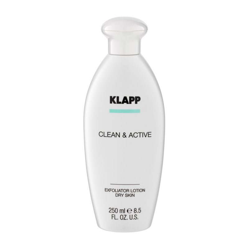 Klapp - Clean & Active Exfoliator Dry Skin 250 ml